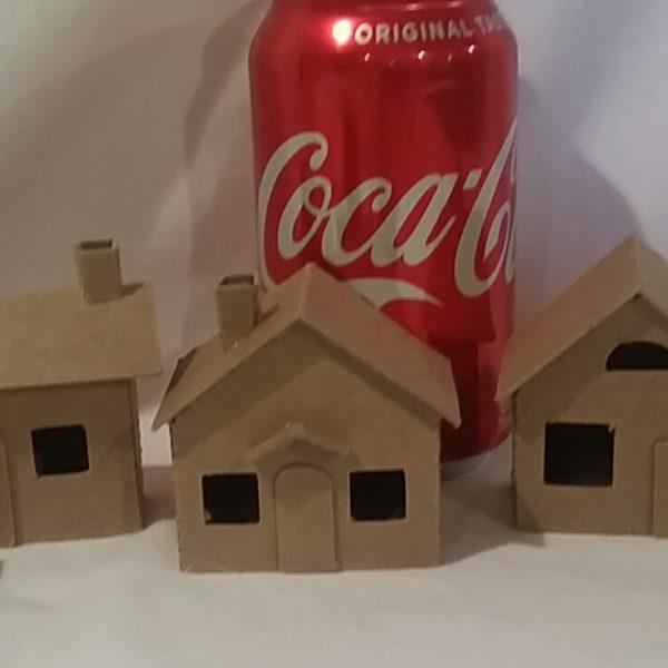 mini village with shop 1